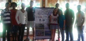 Attendees at the AGRRA protocol training workshop in Samaná Bay supported by the USAID Caribbean Marine Biodiversity Program.